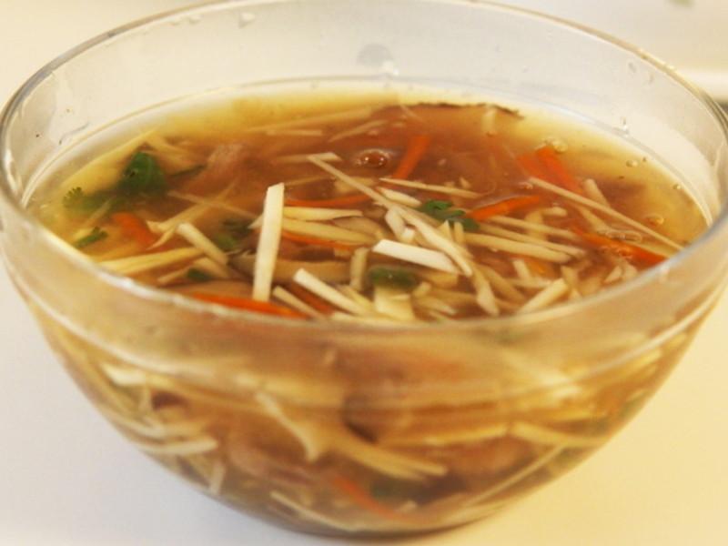 【哇菜】 香菇肉羹湯