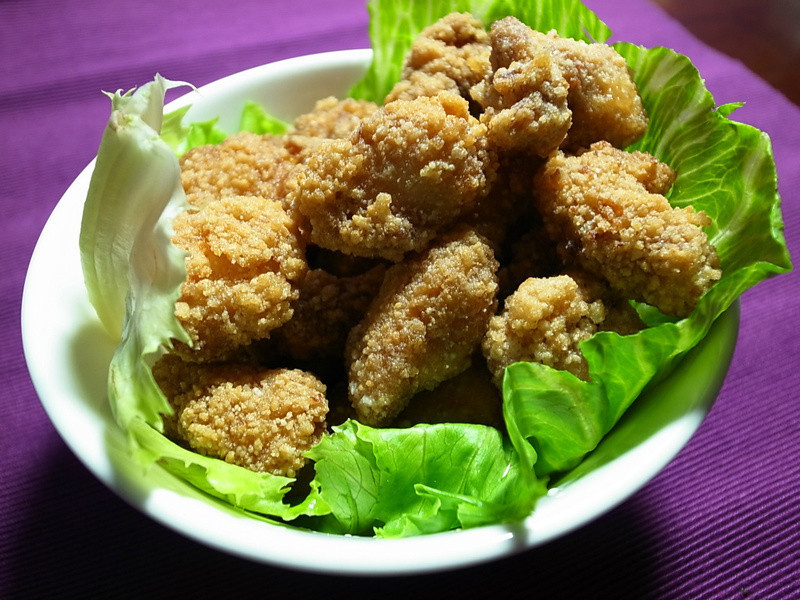 生菜包鹹酥雞