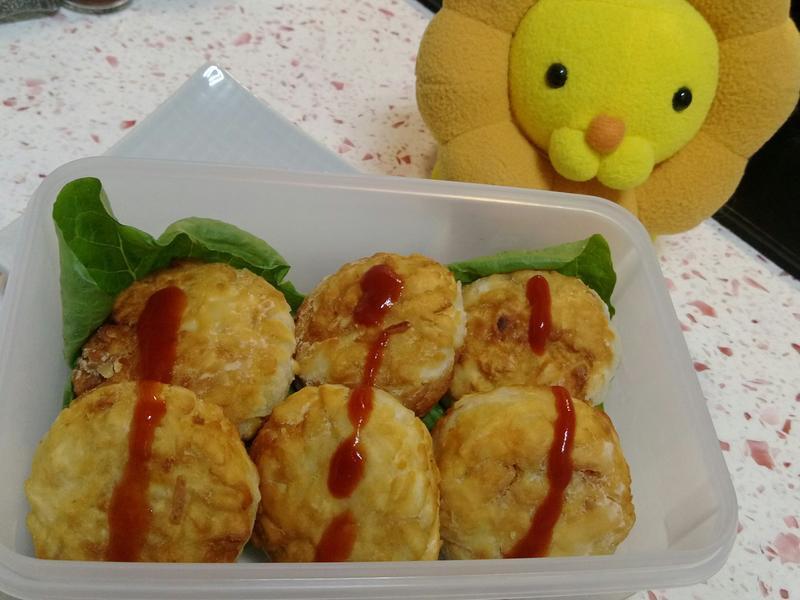 【地瓜可樂餅】家樂福粿仔麵創意料理⊙ω⊙