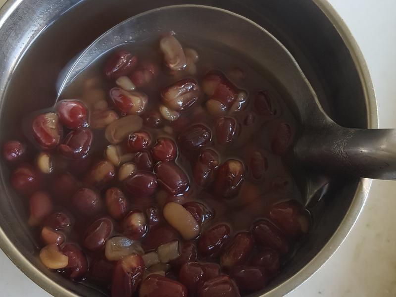 壓力鍋 ~ 紅豆湯