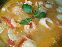 泰式酸辣番茄海鮮湯
