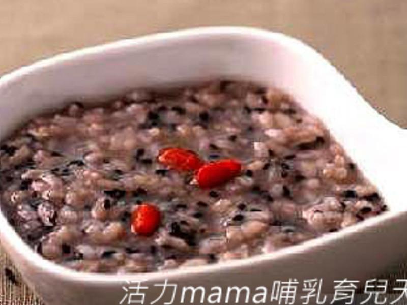 【活力mama】發奶食譜黑芝麻粥