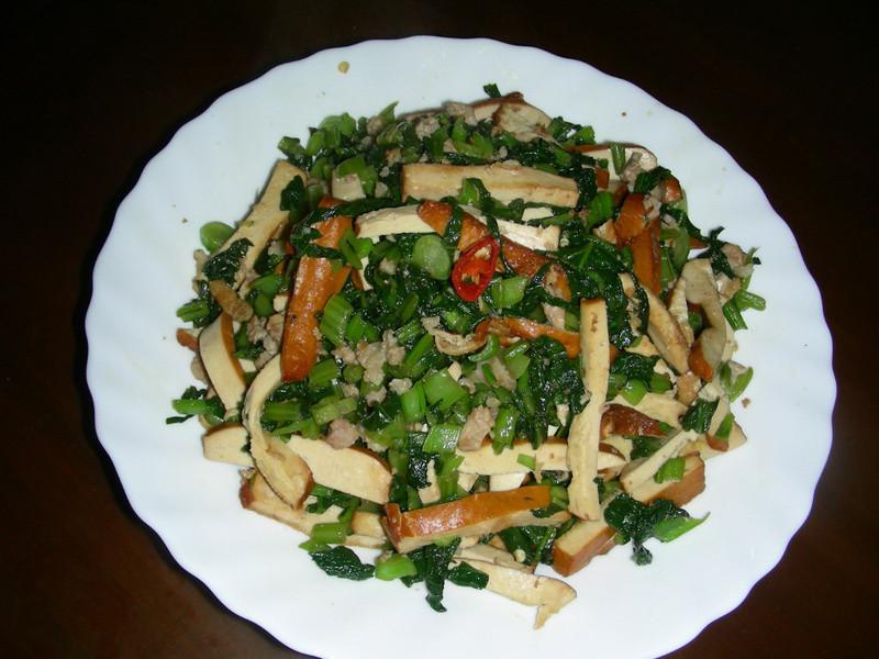 雪菜豆乾肉絲