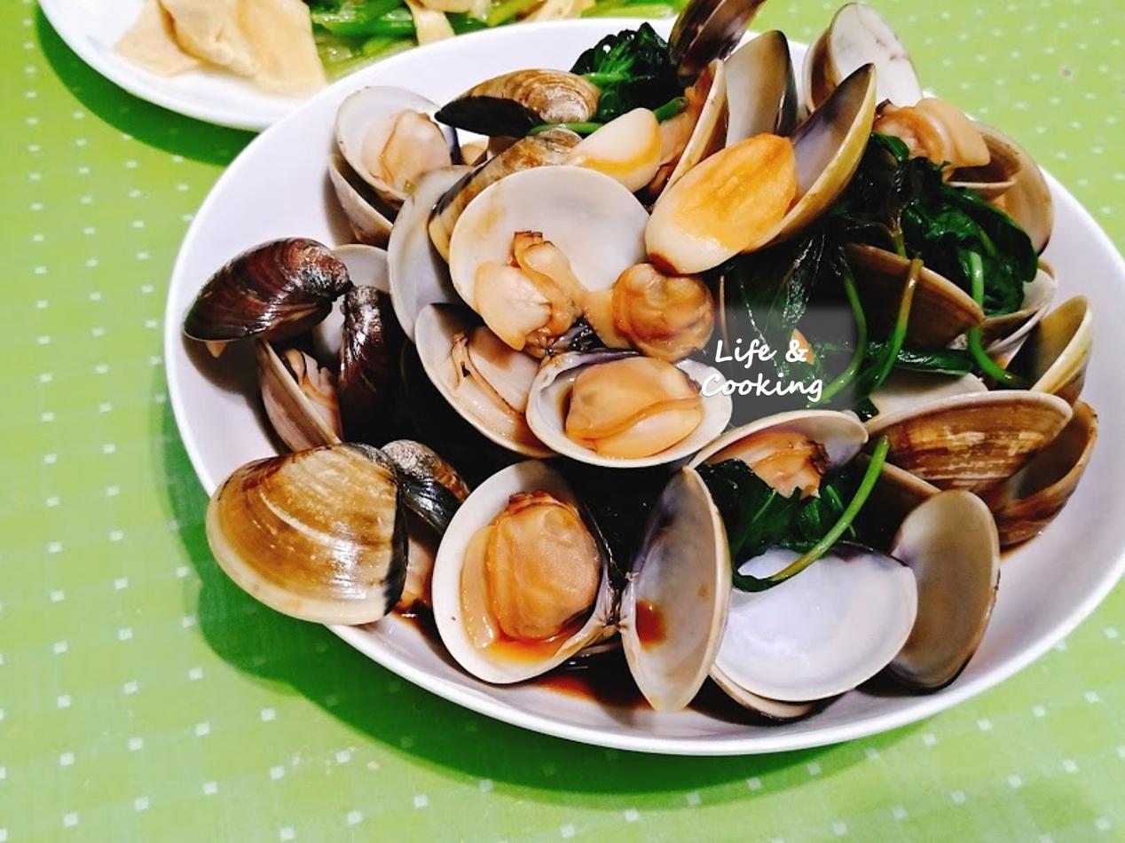 【家常菜】塔香蛤蜊