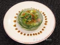 蔬菜水晶凍(雞腳高湯)