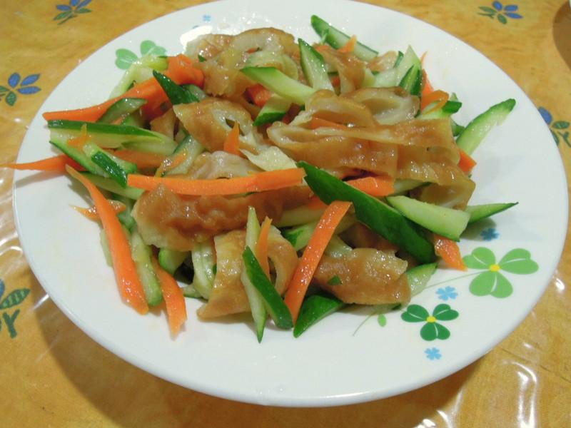 吉古拉炒小黃瓜