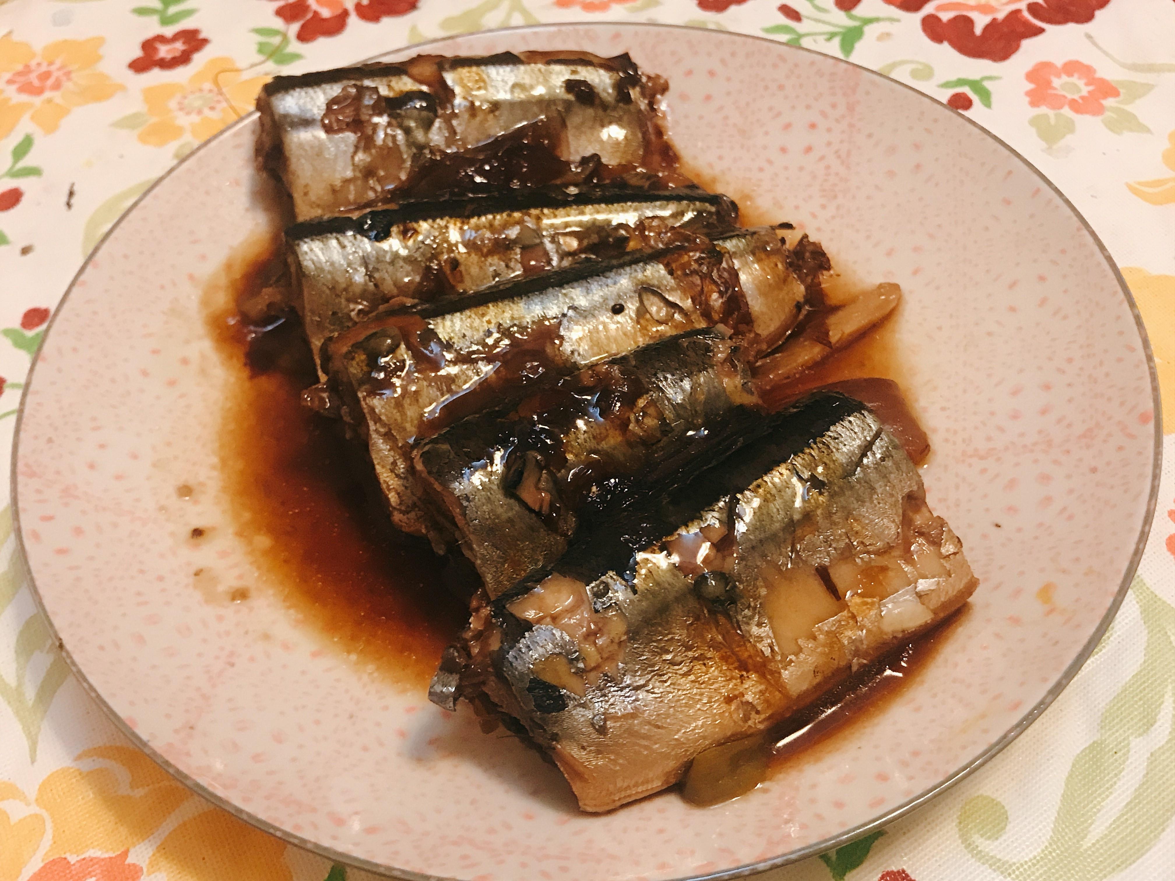秋刀魚甘露煮