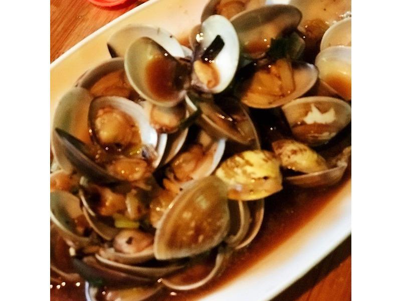【皇兒廚藝♥】重口味蒜炒蛤蜊