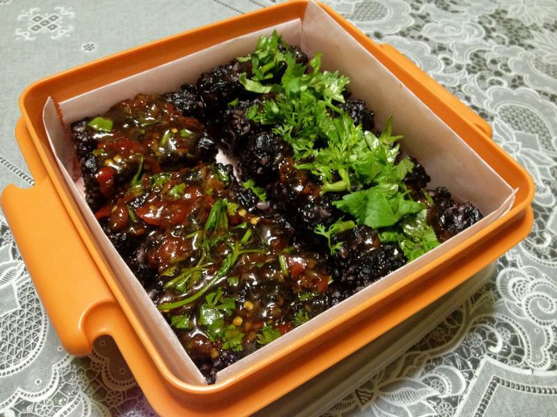 素食米血糕(五榖紫米糕)
