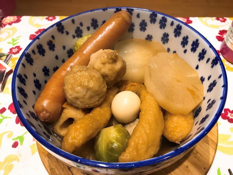 關東煮(大同電鍋)