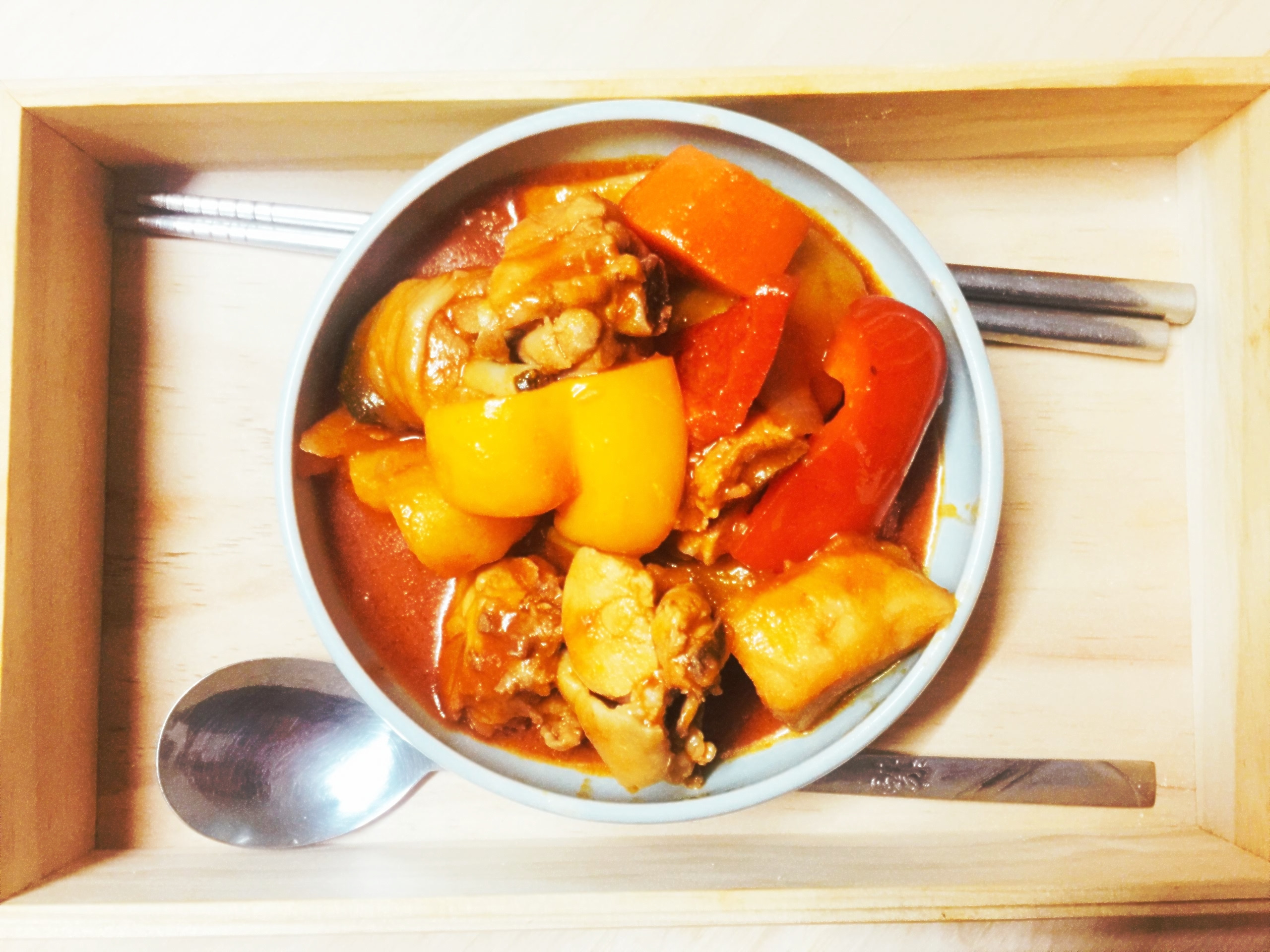 韓風辣醬雞~一鍋到底