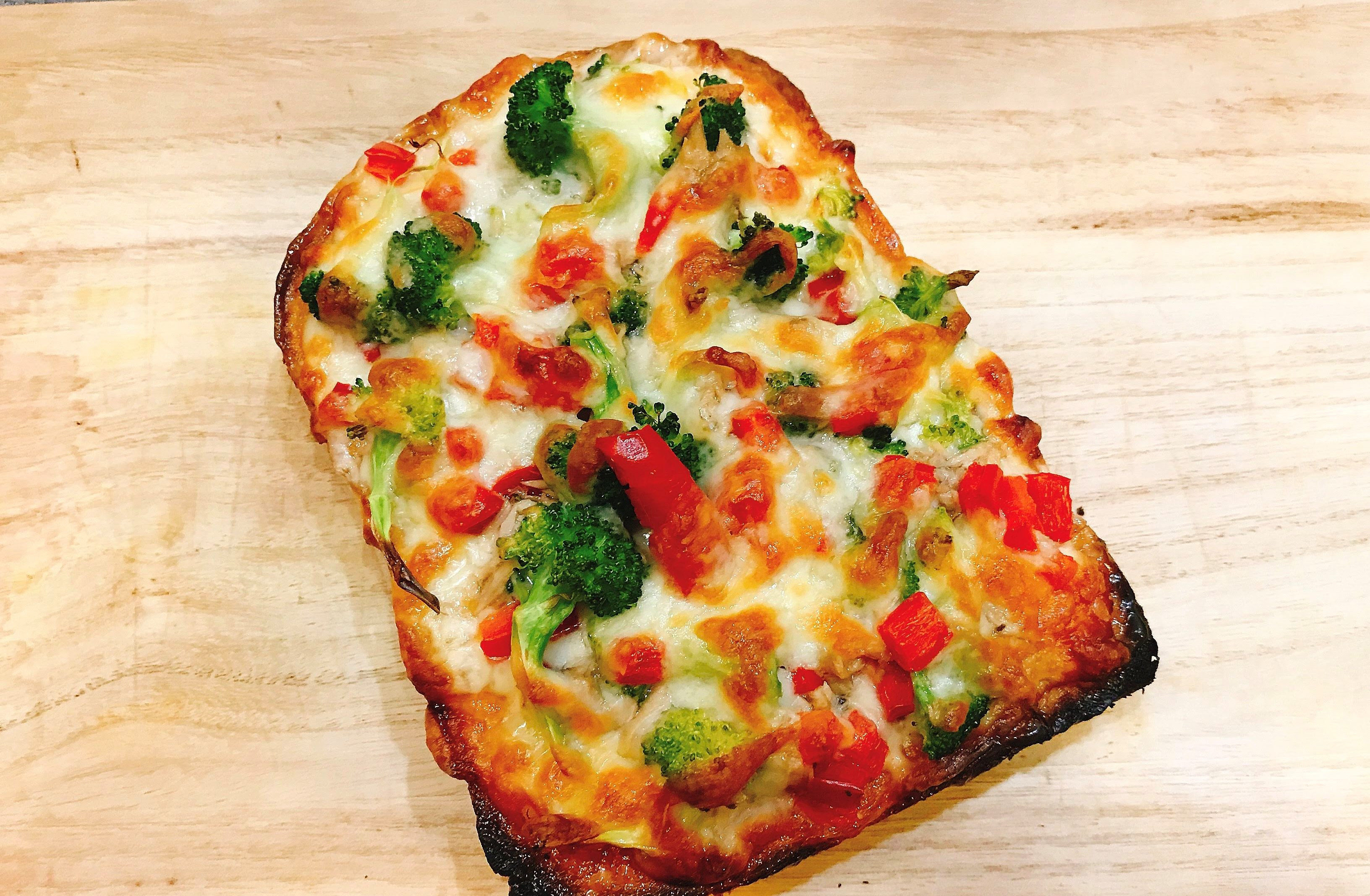 吐司披薩【烤箱料理】