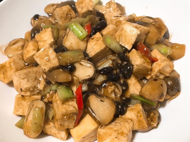 蔭鼓素蚵豆腐~全素
