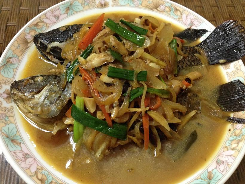 ▊蔥燒菇菇魚 ▊
