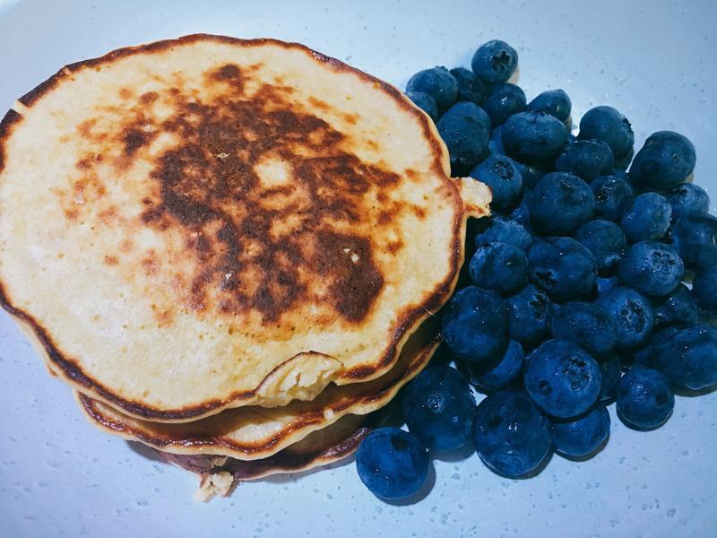 低醣高蛋白鬆餅『高蛋白、低卡、低油』