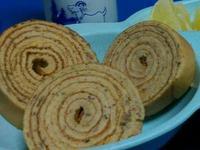 (平底鍋版)紅棗枸杞年輪蛋糕