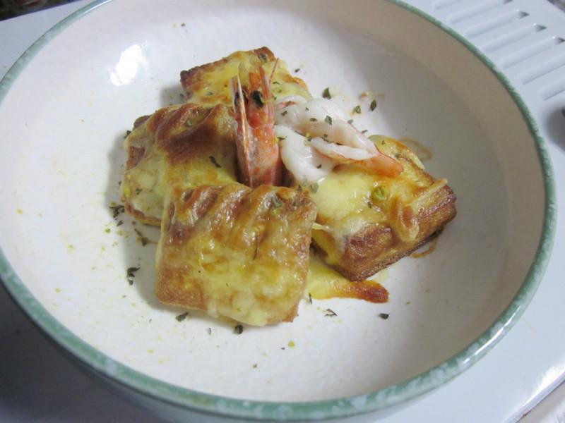 柚香鮮蝦焗豆腐