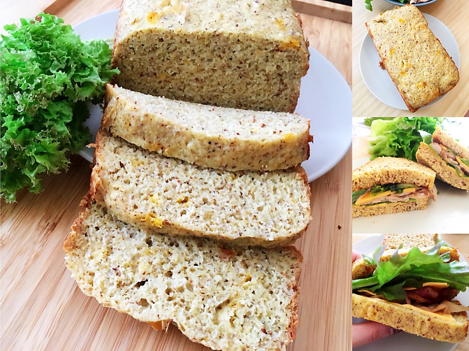 [生酮低醣餐]吐司三明治 日立水波爐
