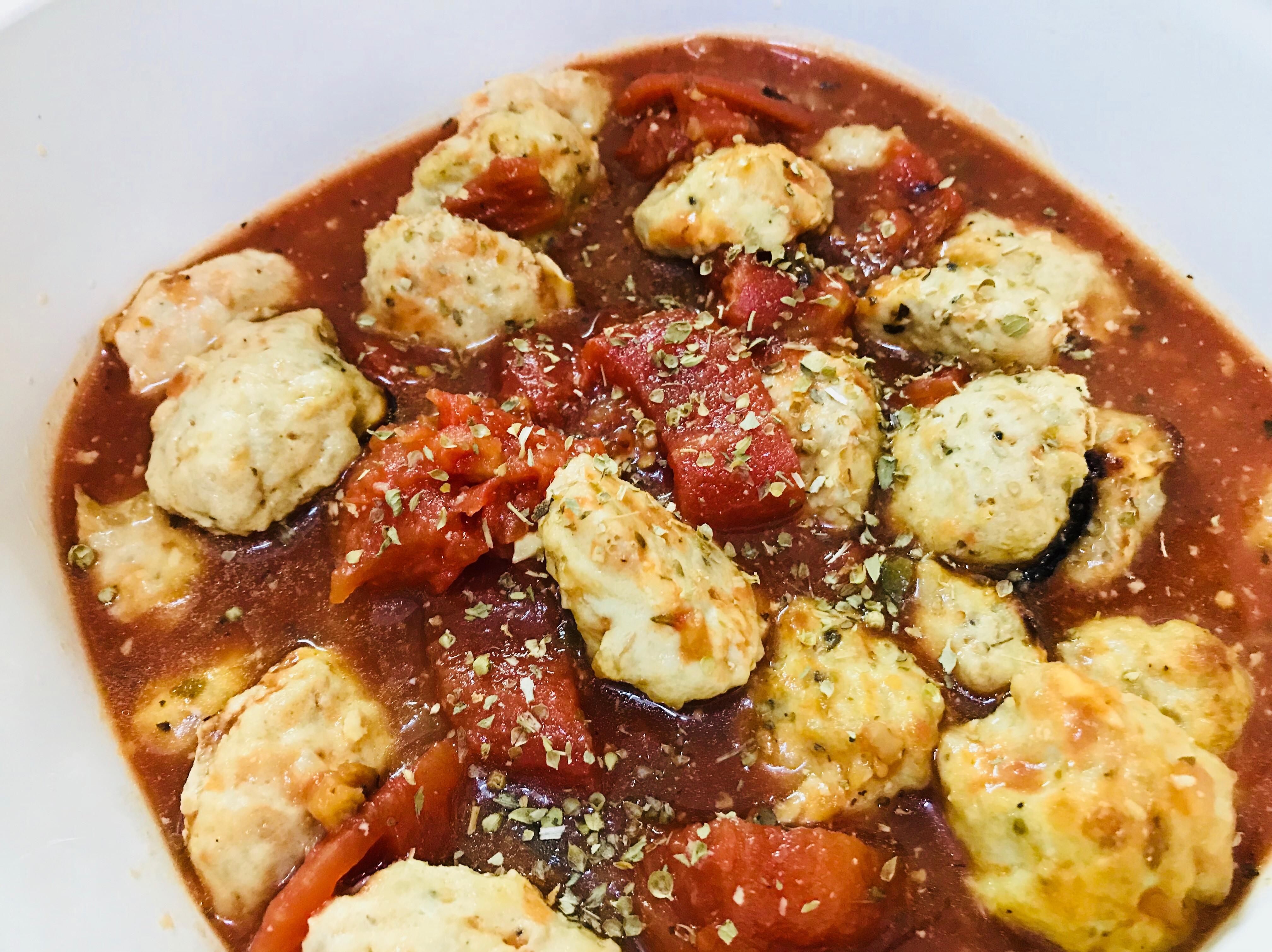 義式慢燉:有機番茄手捏小肉丸