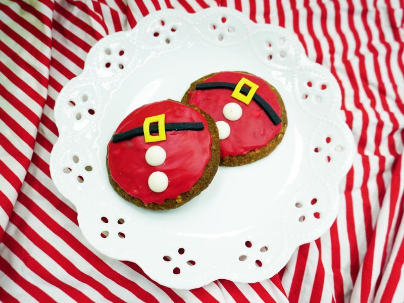 聖誕老人肚肚餅乾