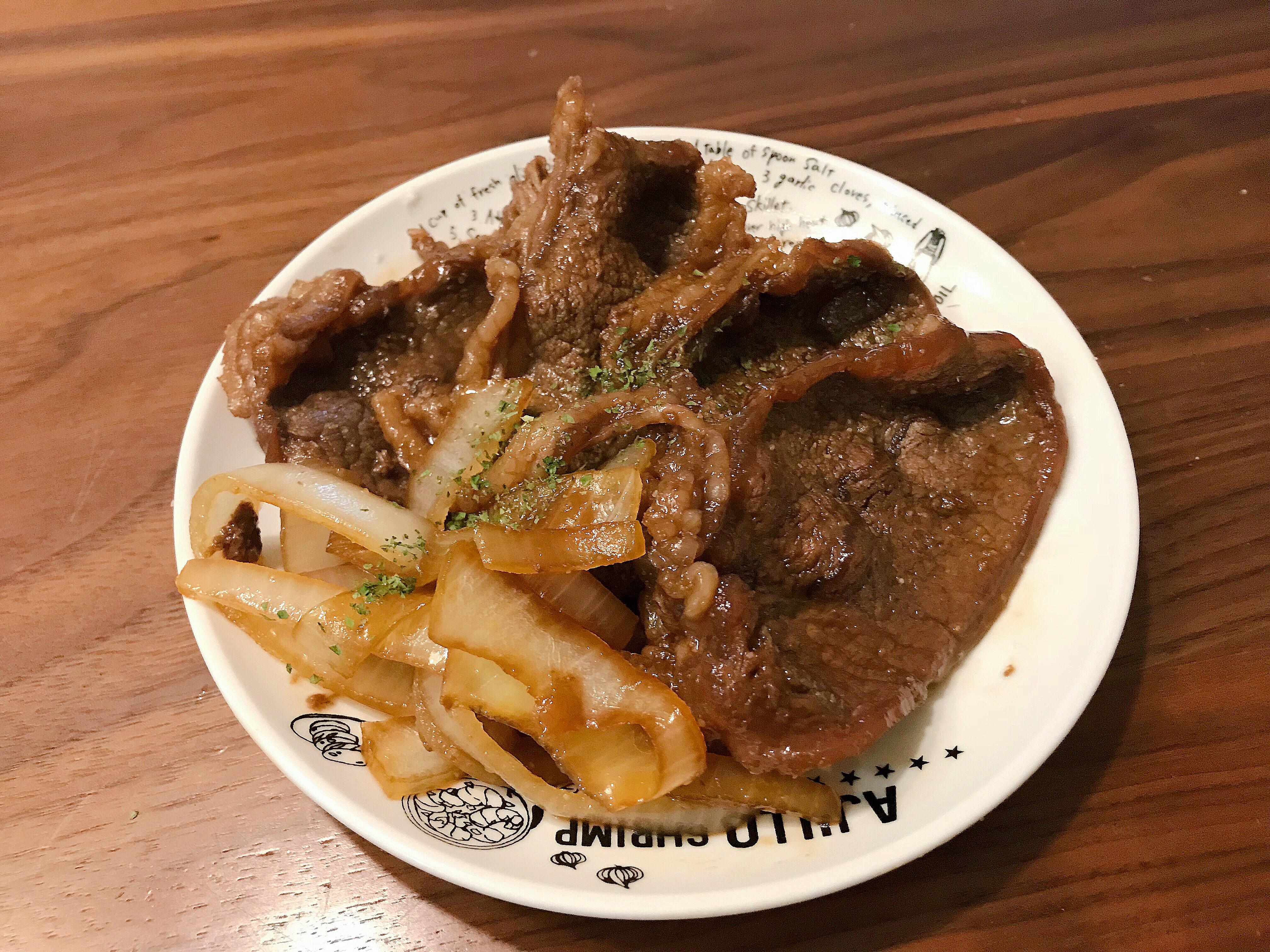 醬燒洋蔥牛肉