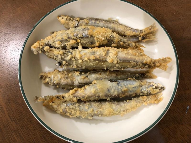 香酥柳葉魚 (飛利浦氣炸鍋)