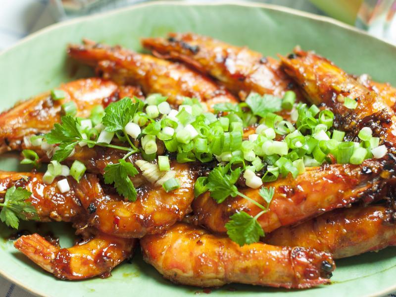 茄汁乾燒大明蝦--電影美食端上桌