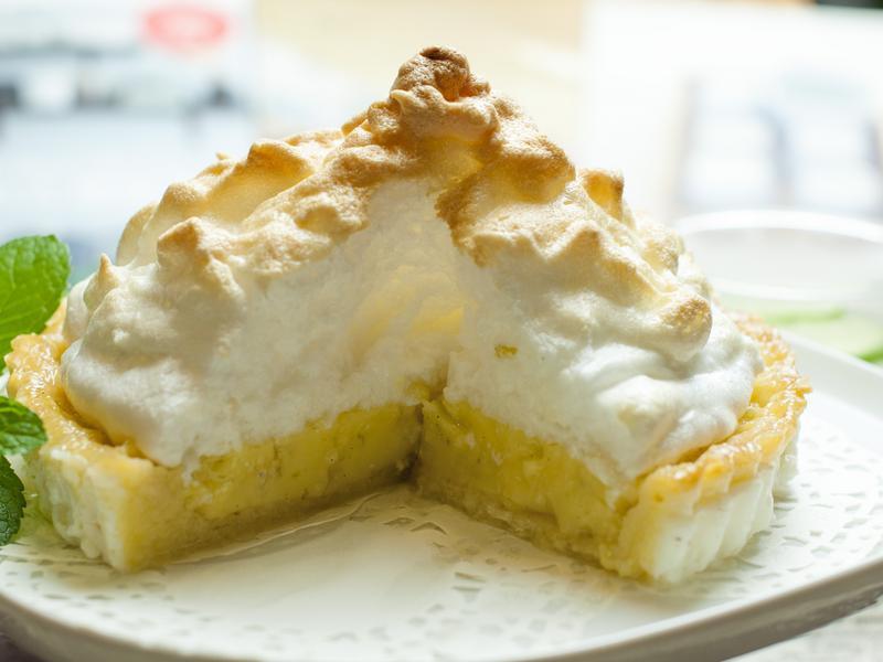 義式蛋白霜檸檬派--電影美食端上桌
