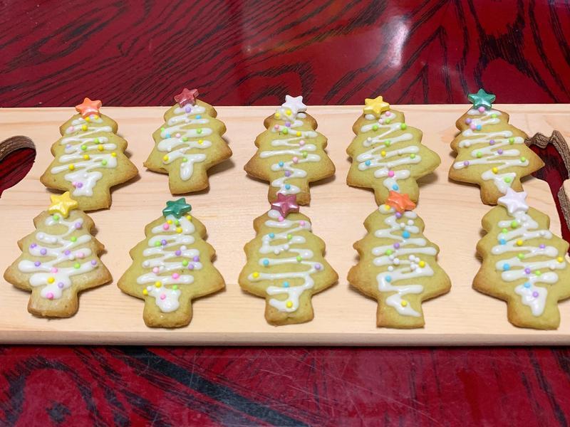 【聖誕節】抹茶餅乾