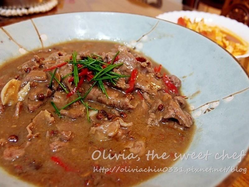 Olivia♥川味麻辣水煮牛肉