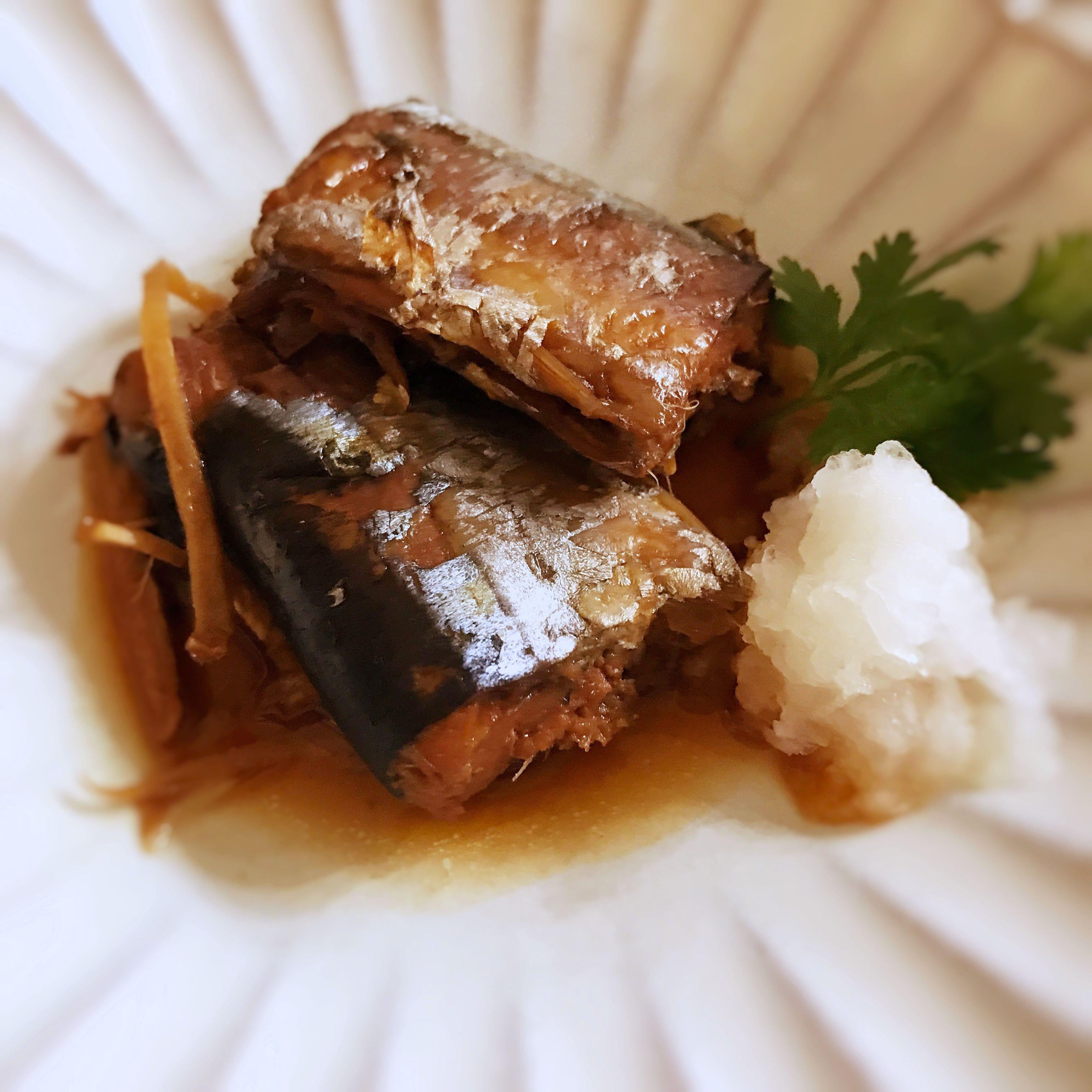 秋刀魚生薑煮 (露營OK)