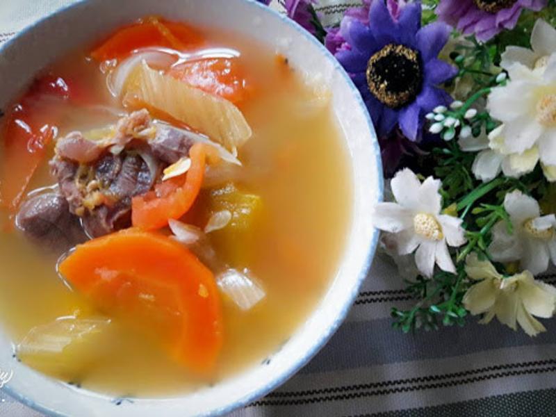 中式南瓜牛肉羅宋湯