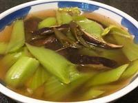 香菇芥菜湯~全素