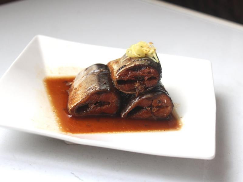 秋刀魚味噌煮