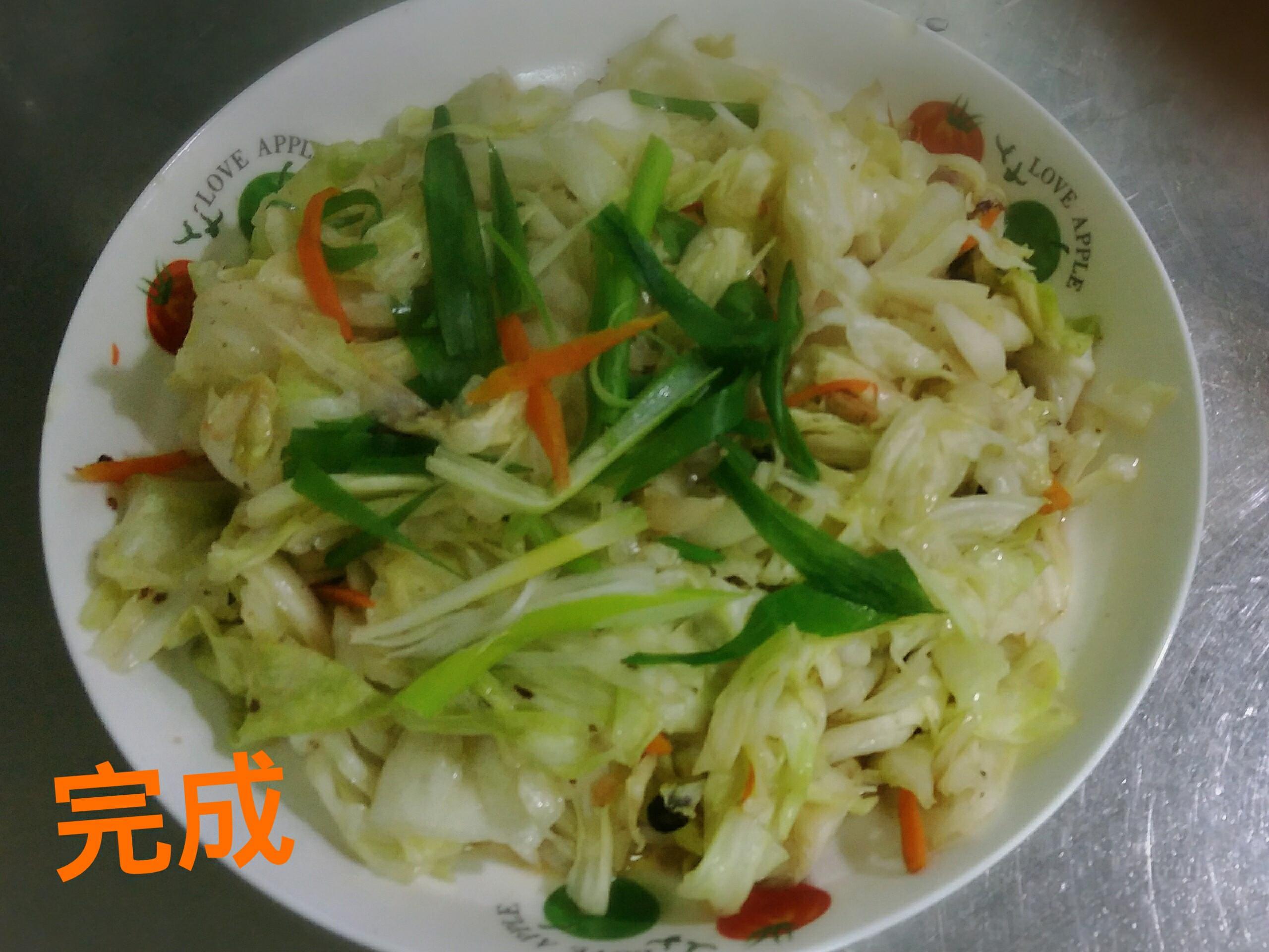 豆豉高麗菜