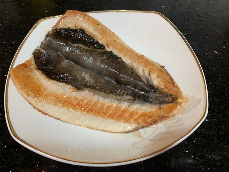 乾煎虱目魚肚
