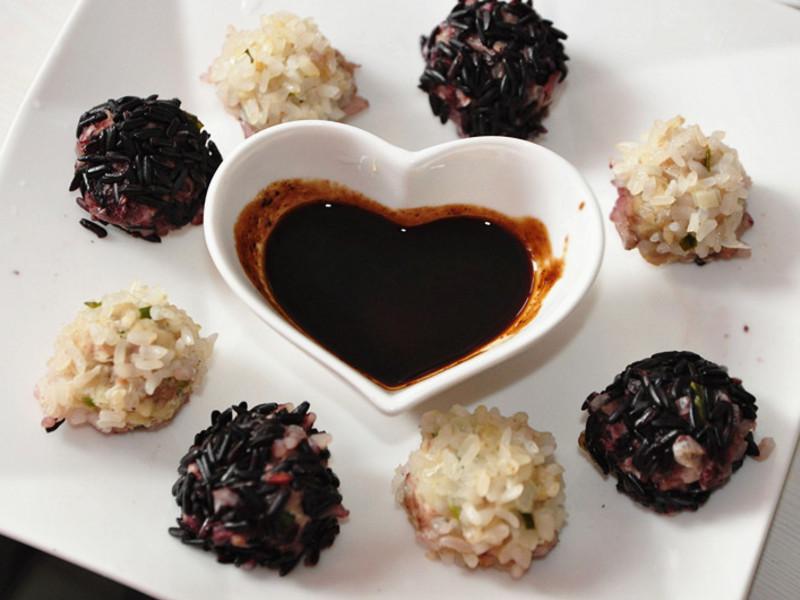 【大同電鍋料理】蜜香梅醋釀~黑白珍珠丸