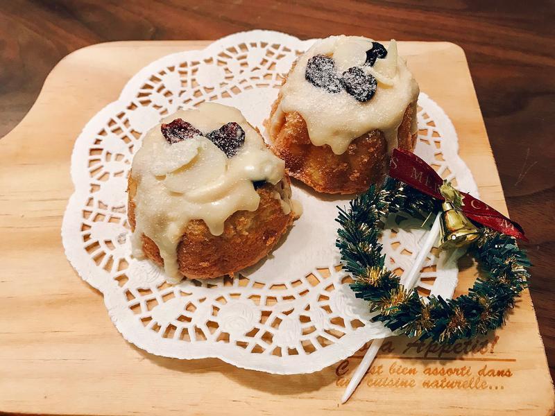 優格巧克力聖誕小蛋糕(全蛋)
