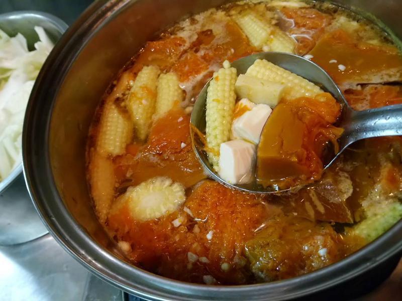 南瓜豆腐湯