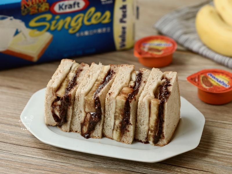 元氣滿滿的早餐《起司酷脆可可熱三明治》