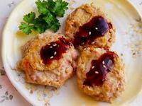 金針菇煎肉餅