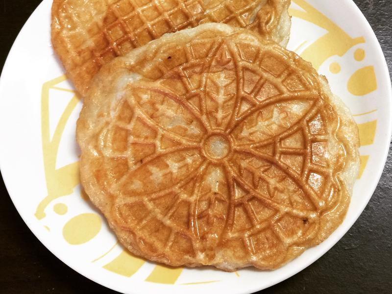 鬆餅機料理~熱壓甜不辣餅