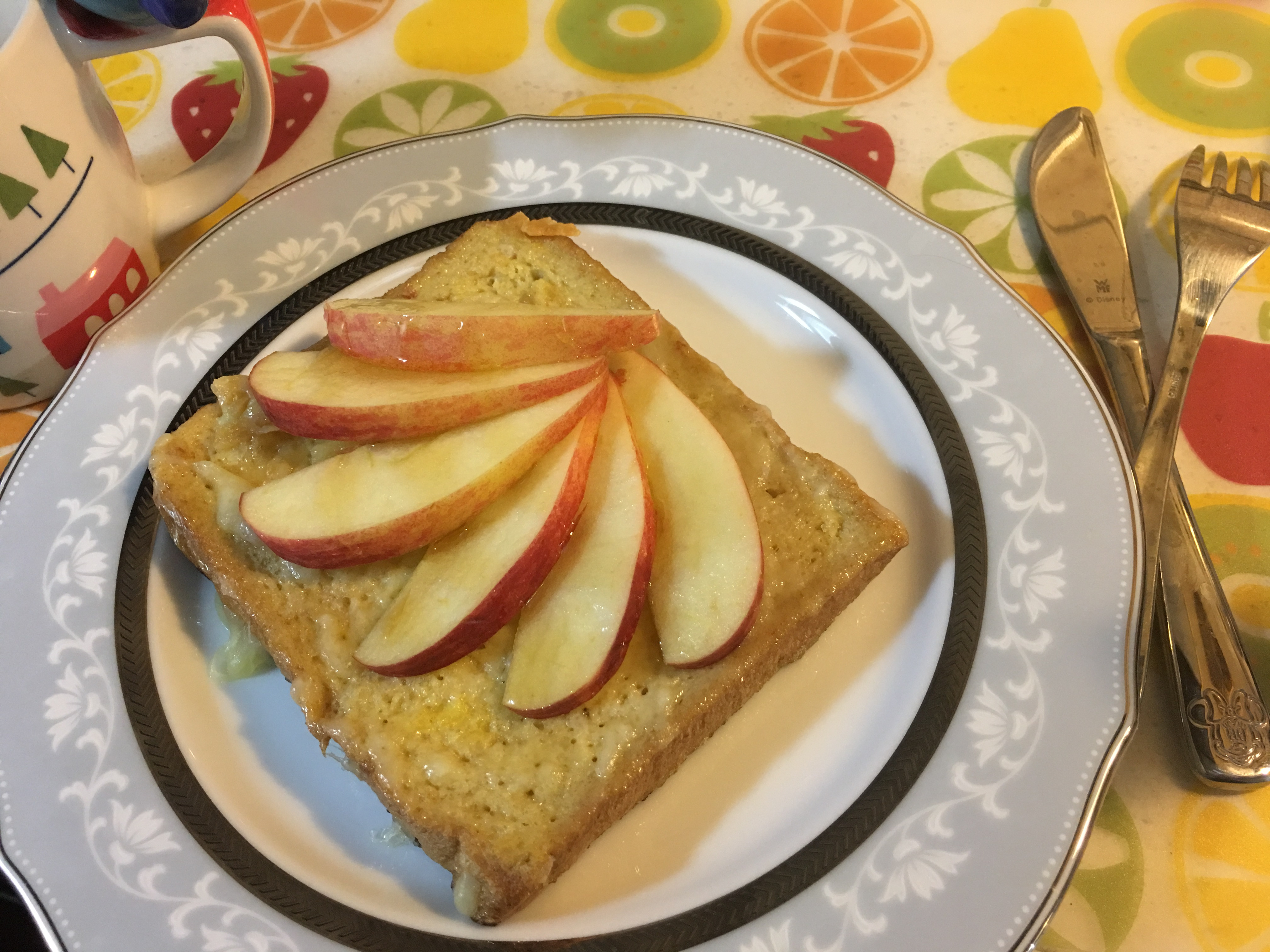 蘋果蜂蜜法式吐司