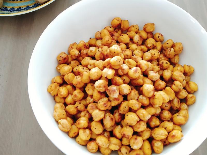 香料烤鷹嘴豆