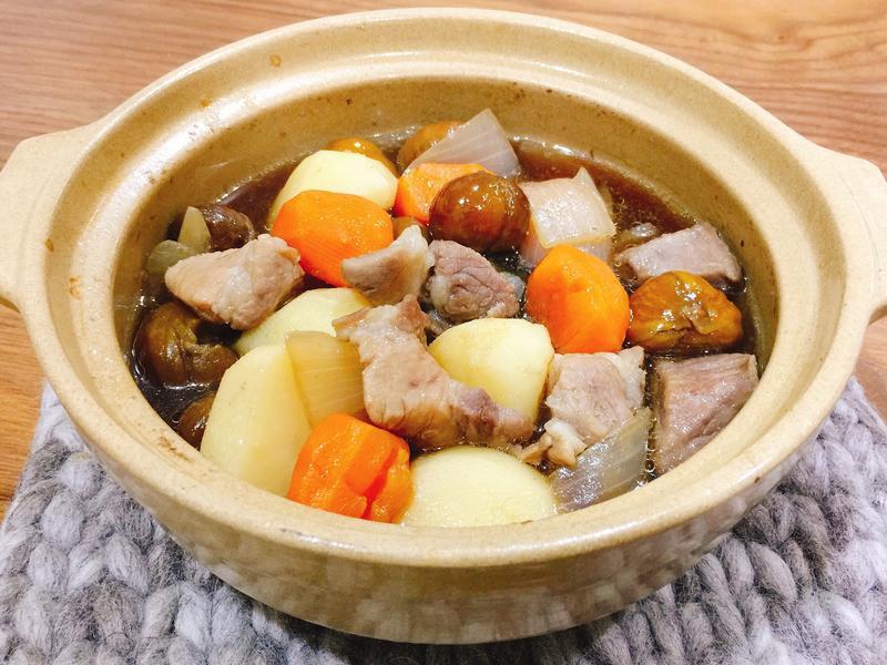 栗子馬鈴薯燉肉
