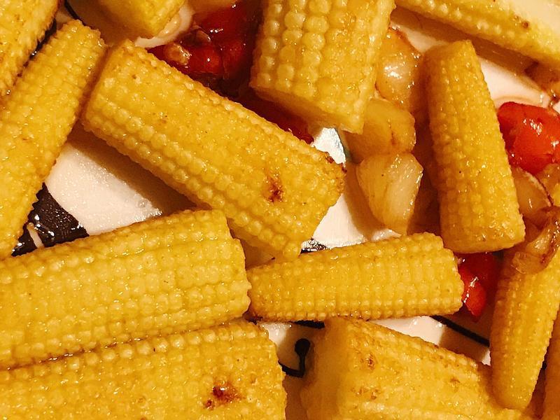 給「自己」的辣炒玉米筍✨