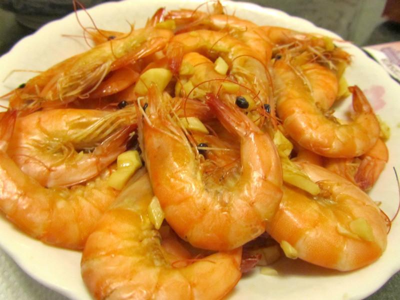 (下酒菜)紹興鹽焗蝦