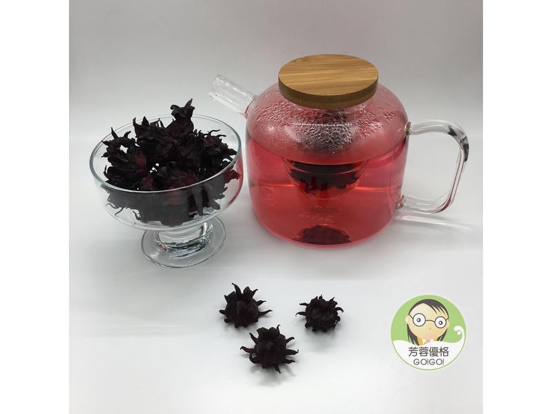 DIY整顆乾燥洛神花~使用水波爐