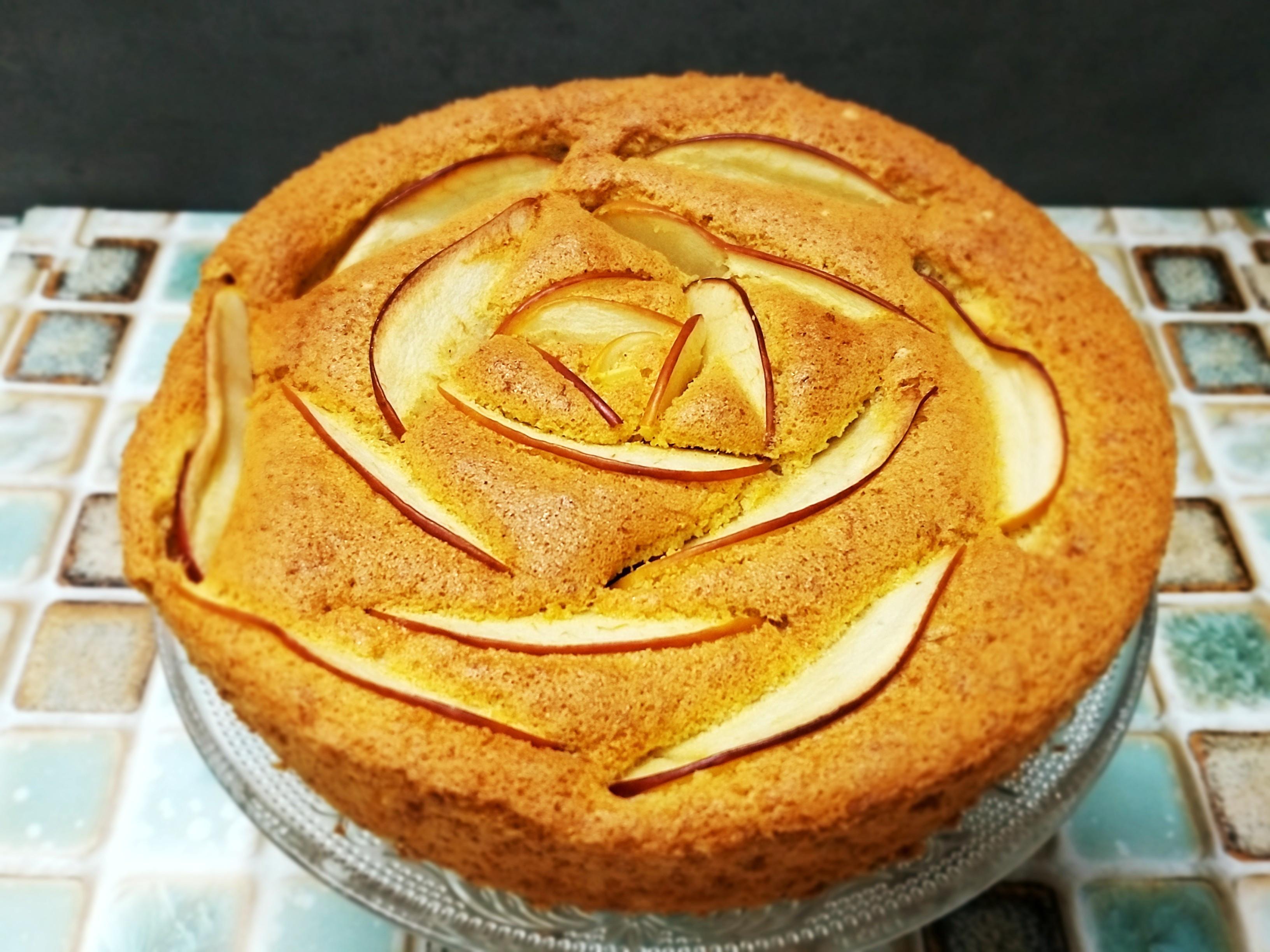 紅蘿蔔肉桂蘋果花蛋糕~給自己的小確幸