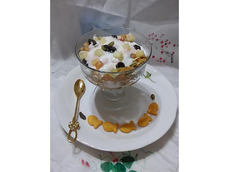 水果優格麥片